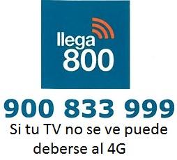 Si tu TV no se ve puede deberse al 4G